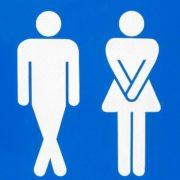 Uomo e donna incontinenti